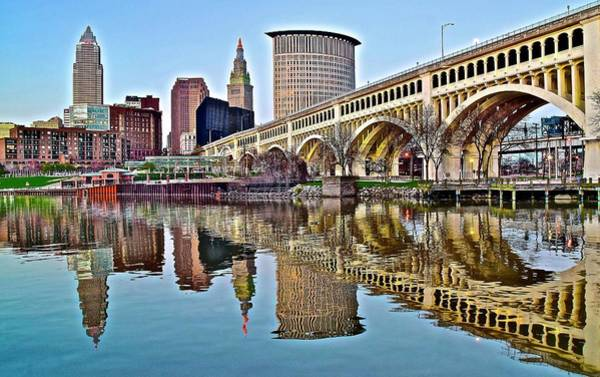 Wall Art - Photograph - Come To Cleveland And Enjoy by Frozen in Time Fine Art Photography