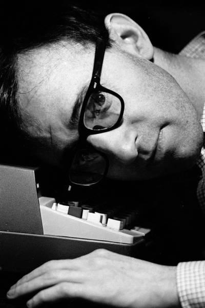 Craftsperson Photograph - Comedianfilm Maker Woody Allen by Arthur Schatz