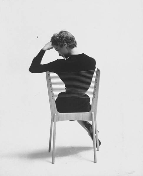 Dress Photograph - Comfort Of Chair Comes From Fact That Is by Yale Joel