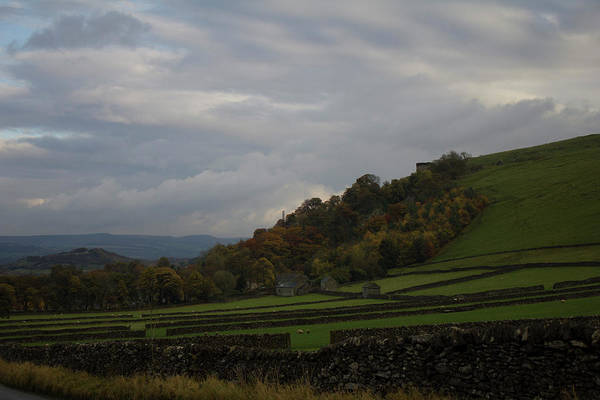 Photograph - Derbyshire Stone Walls by John Dakin
