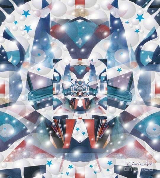Digital Art - Command Central by Jean Clarke