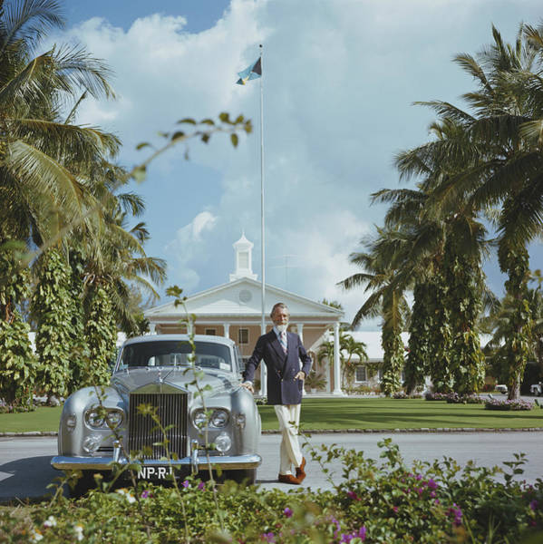 Photograph - Commander Whitehead by Slim Aarons