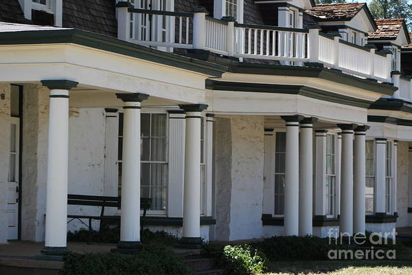 Photograph - Commanding Officers Quarters At Fort Stanton New Mexico by Colleen Cornelius