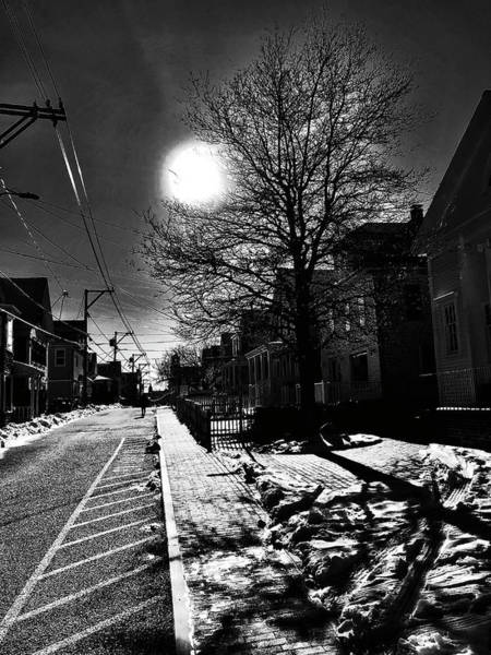 Photograph - Commercial Street Shadows by Frank Winters