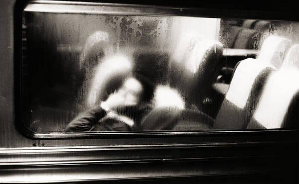 Photograph - Commuter Train, New York City, New by Alfred Gescheidt