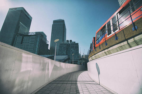 Wall Art - Photograph - Commuting by Martin Newman