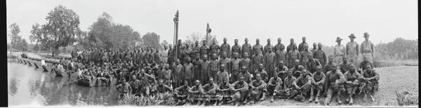 Wall Art - Photograph - Company B, 8th Battalion African by Fred Schutz Collection