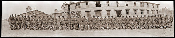 Wall Art - Photograph - Company I. 371st Infantry, Camp by Fred Schutz Collection