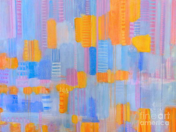 Wall Art - Painting - Complementary Colors by Kate Marion Lapierre