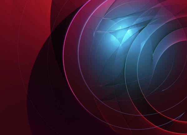 Wall Art - Photograph - Complex Overlapping Concentric Circle by Ikon Images