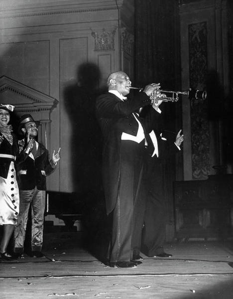 Composer Photograph - Composer W. C. Handy Playing The by Hansel Mieth