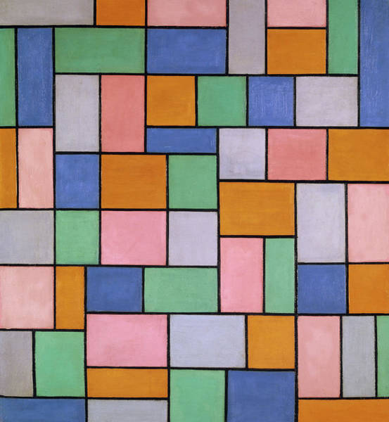 Wall Art - Painting - Composition In Dissonances by Theo van Doesburg