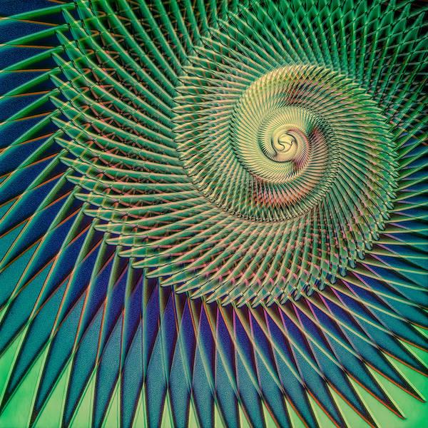 Spiral Digital Art - Composition Logarithmique by Jon Woodhams