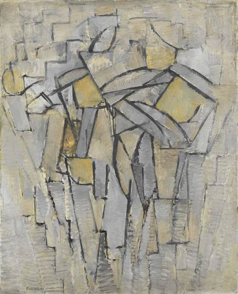 Wall Art - Painting - Composition No. Xiii, Composition 2 Piet Mondrian by Celestial Images