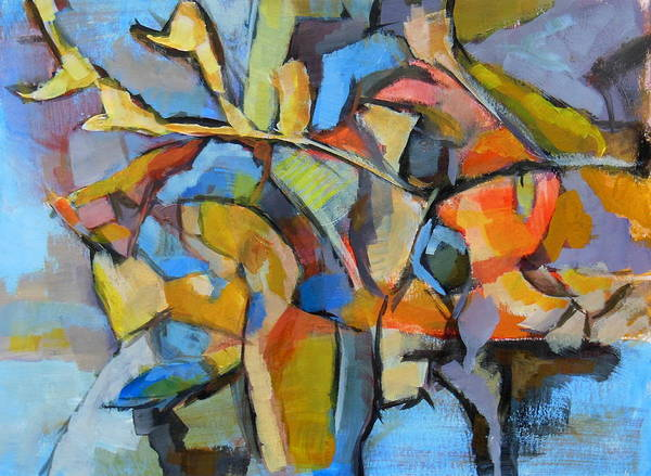 Experiment Painting - Composition Painting 3 by Alfons Niex