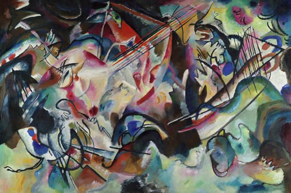 Wassily Kandinsky Painting - Composition Vi, 1913 by Wassily Kandinsky