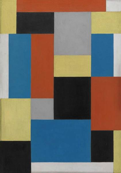 Wall Art - Painting - Composition Xx Theo Van Doesburg by Celestial Images