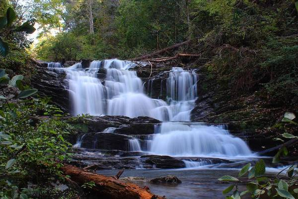Photograph - Conasauga Falls by Richard Parks
