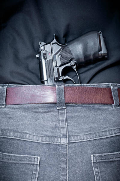 Beretta Wall Art - Photograph - Concealed Carry by Richard Nixon