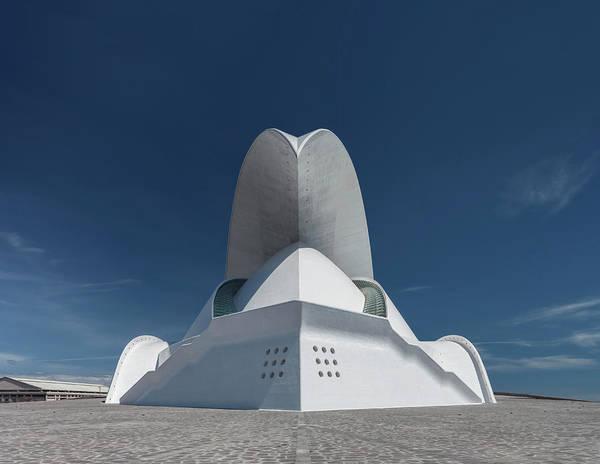 Concert Hall Photograph - Concert Hall, Auditorio De Tenerife by Gregor Schuster