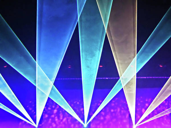Holland Digital Art - Concert Lights by Ellen Van Bodegom