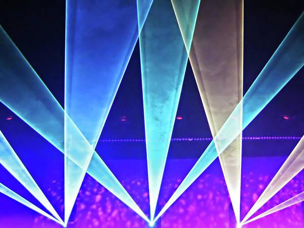Netherlands Digital Art - Concert Lights by Ellen Van Bodegom