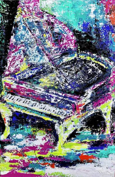 Wall Art - Painting - Concerto In Color by Debi Starr