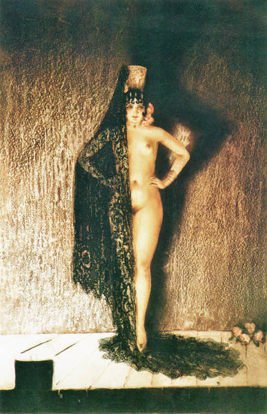 Wall Art - Painting - Conchita - Digital Remastered Edition by Louis Icart