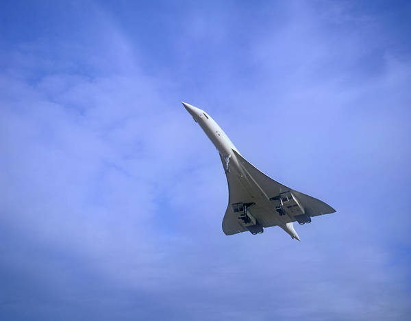 Supersonic Speed Wall Art - Photograph - Concorde Supersonic Airliner by Malcolm Fife