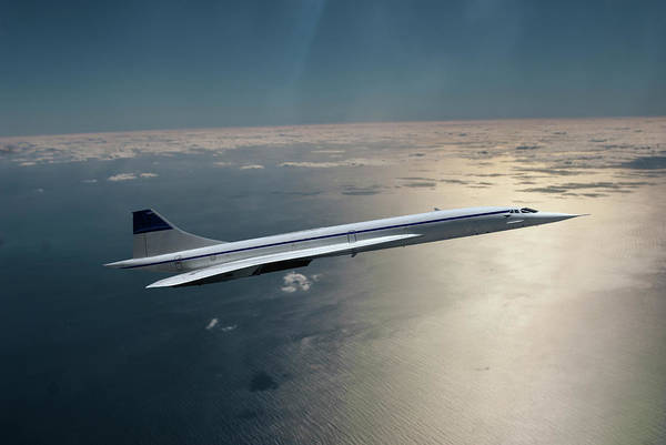 Supersonic Speed Wall Art - Photograph - Concorde Supersonic Transport Sst by Erik Simonsen