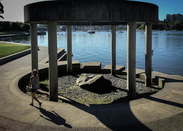 Photograph - Concrete And Stones by Juan Contreras