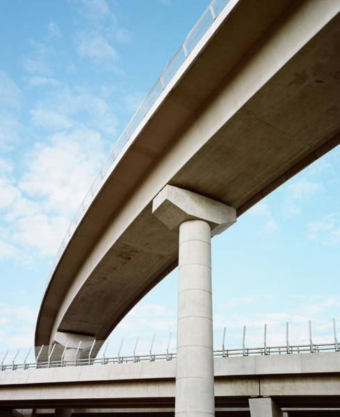 New South Wales Photograph - Concrete Flyover by Michael Hall
