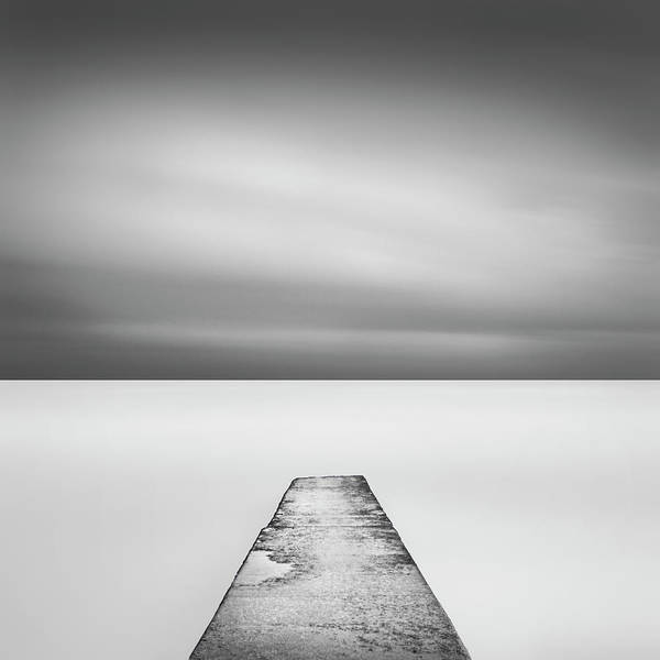 Tranquility Photograph - Concrete Jetty by Paul Simon Wheeler Photography