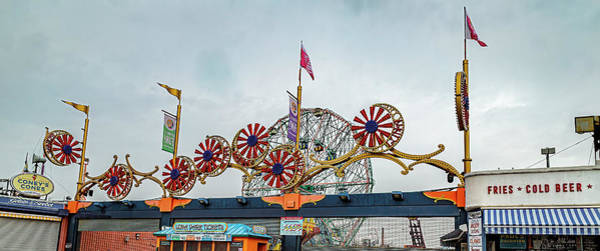 Photograph - Coney Island Boardwalk by Kay Brewer