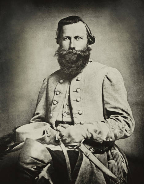 Photograph - Confederate Jeb Stuart by Paul W Faust -  Impressions of Light