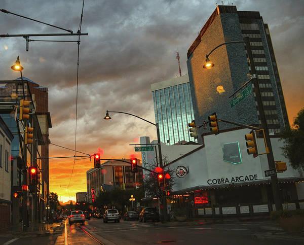 Photograph - Congress Street Monsoon Season by Chance Kafka