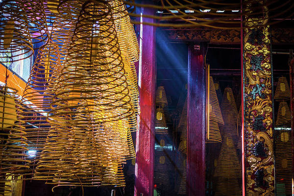 Photograph - Conical Incense Temple by Gary Gillette