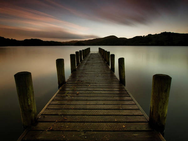 Wall Art - Photograph - Coniston Jetty by Alan Jackson Photography