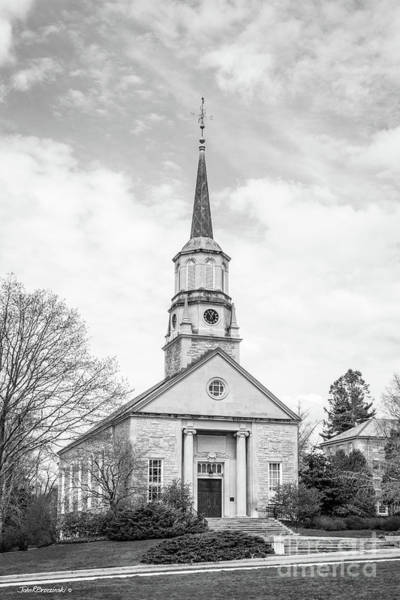 Conn Wall Art - Photograph - Connecticut College Harkness Chapel by University Icons