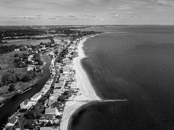 Wall Art - Photograph - Connecticut's Fairfield Beaches Aerial by Stephanie McDowell