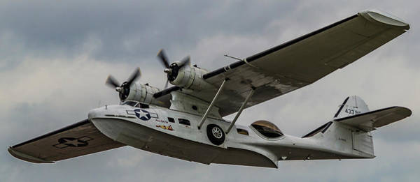 Photograph - Consolidated Pby Catalina Raf Scampton 2017 by Scott Lyons