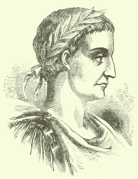Wall Art - Drawing - Constantine The Great Also Known As Constantine I by English School