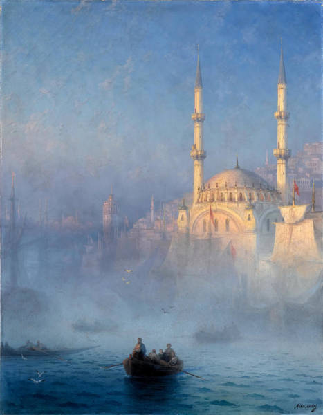 Wall Art - Painting - Constantinople by Ivan Aivazovsky