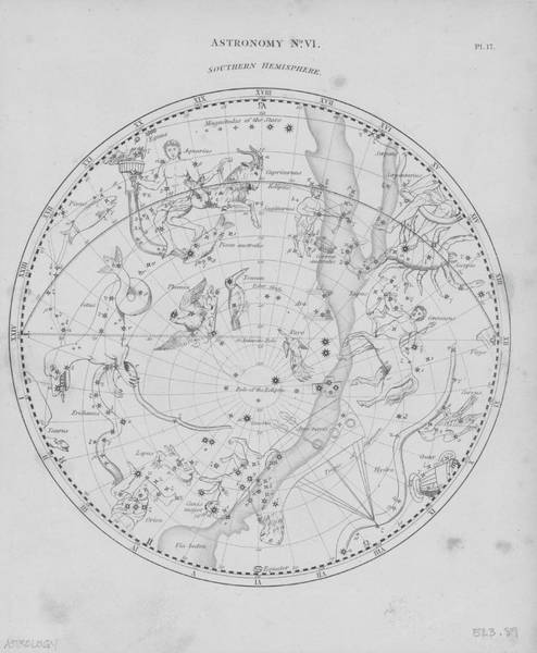 Southern Hemisphere Wall Art - Photograph - Constellations Of Southern Hemisphere by Archive Photos