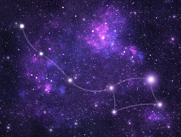 Wall Art - Photograph - Constellations. Ursa Minor Umi by Sololos