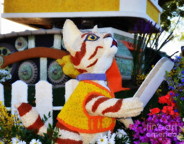 Tournament Of Roses Photograph - Construction Kitty by Tru Waters