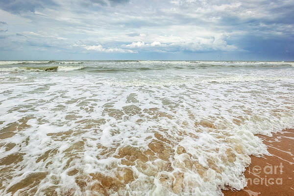 Ormond Beach Photograph - Consuming Waves by Joan McCool