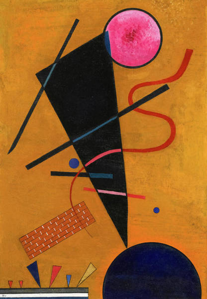 Wall Art - Painting - Contact, 1924 by Wassily Kandinsky