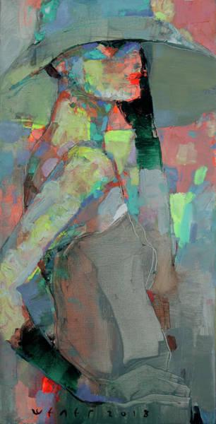 Wall Art - Painting - Contemplation by Viktor Sheleg