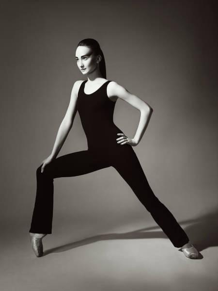 Lambada Photograph - Contemporary Ballet Dancer by Lambada
